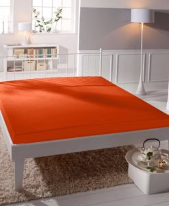 TP Jersey prostěradlo Premium 190g/m2 160x200 Oranžová