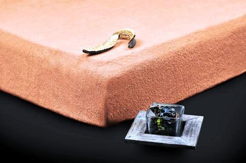 TP Froté prostěradlo Premium 190g/m2 180×200 Lososová