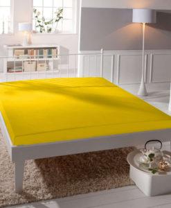 TP Jersey prostěradlo Premium 190g/m2 180x200 Žlutá