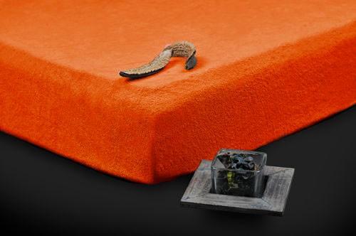 TP Froté prostěradlo Premium 190g/m2 180×200 Oranžová