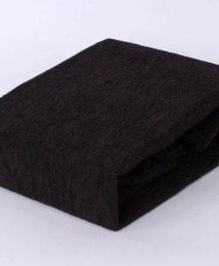 TP Froté prostěradlo Premium 190g/m2 140x200 Černá