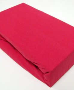 TP Jersey prostěradlo Premium 190g/m2 140x200 Červená
