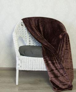 TP Mikroflanelová deka 150x200 Hnědá