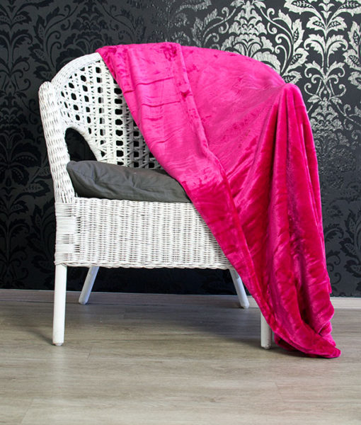TP Mikroflanelová deka 150×200 Růžová