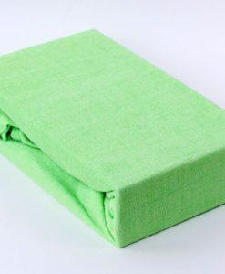 TP Froté prostěradlo Premium 190g/m2 220x200 Světle zelená