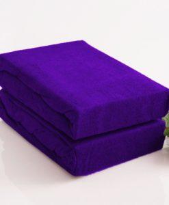 TP Froté prostěradlo Premium 190g/m2 180x200 Tmavě fialová