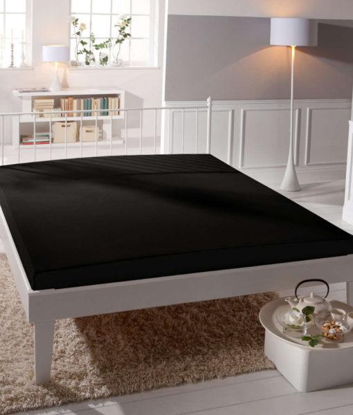 TP Jersey prostěradlo Premium 190g/m2 180×200 Černá