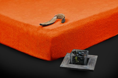TP Froté prostěradlo Premium 190g/m2 90×200 Oranžová