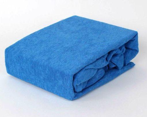 TP Froté prostěradlo Premium 190g/m2 160×200 Modrá