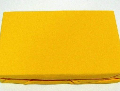 TP Jersey prostěradlo Premium 190g/m2 140×200 Žlutá