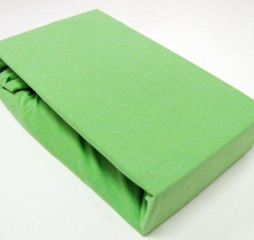 TP Jersey prostěradlo Premium 190g/m2 160×200 Zelená