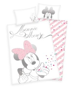 Herding Dětské bavlněné povlečení do postýlky Minnie Mouse