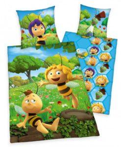 Herding Dětské bavlněné povlečení do postýlky Včelka Mája