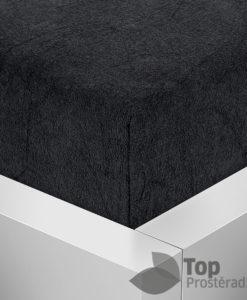 TP Froté prostěradlo Premium 190g/m2 160x200 Černá