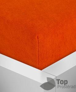 TP Froté prostěradlo Premium 190g/m2 180x200 Oranžová