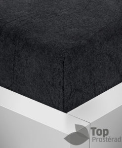 TP Froté prostěradlo Premium 190g/m2 90x200 Černá