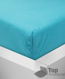 TP Jersey prostěradlo Premium 190g/m2 140x200 Azurová