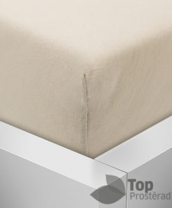 TP Jersey prostěradlo Premium 190g/m2 140x200 Béžová