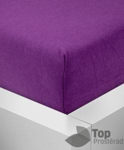TP Jersey prostěradlo Premium 190g/m2 160x200 Fialová