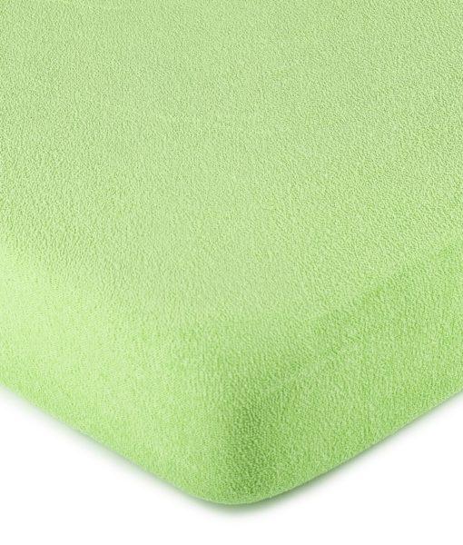 4Home froté prostěradlo zelená