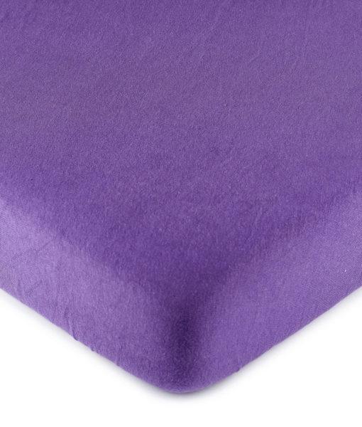 4Home jersey prostěradlo fialová