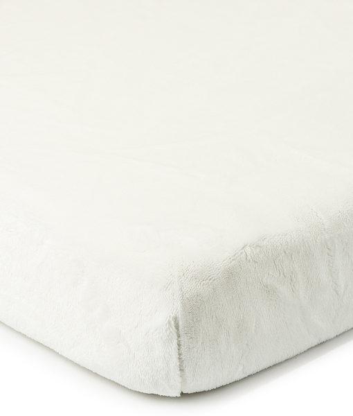 4Home prostěradlo mikroflanel bílá
