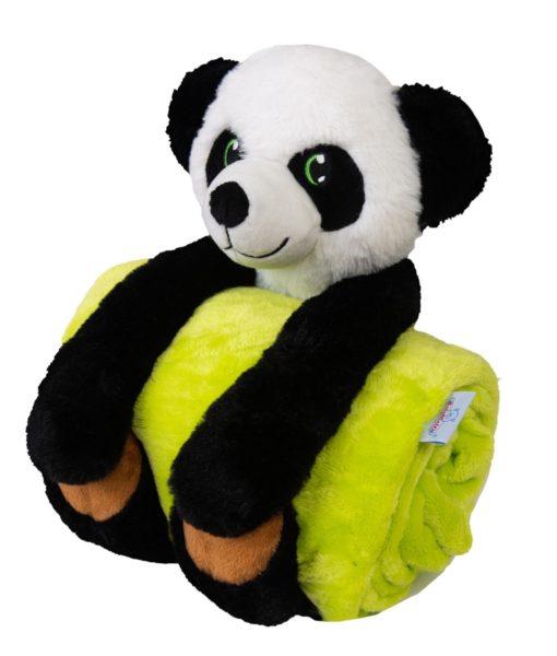 Babymatex Dětská deka Carol s plyšákem panda