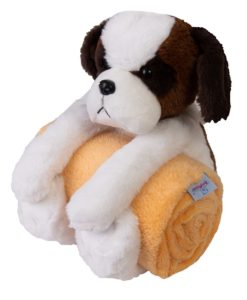 Babymatex Dětská deka Carol s plyšákem pes