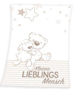 Herding Dětská deka Fynn Lieblings