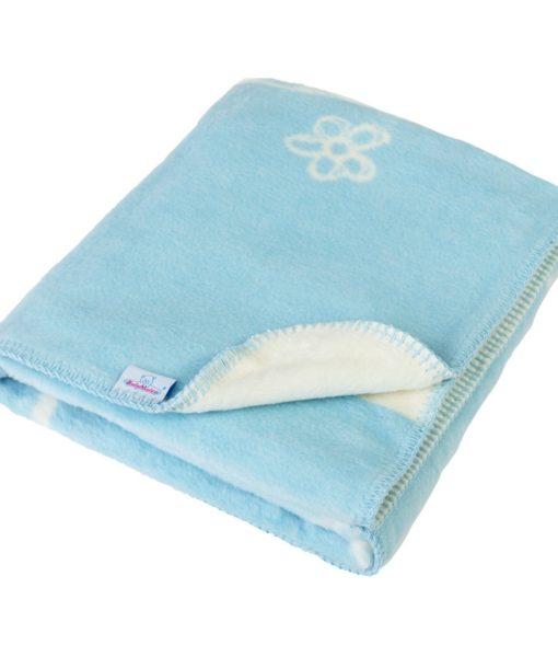 Babymatex Dětská deka Teddy modrá