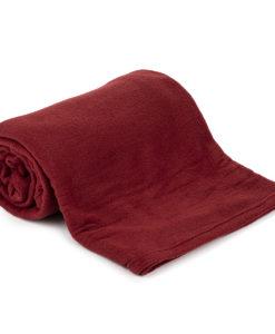 Jahu Fleecová deka UNI vínová